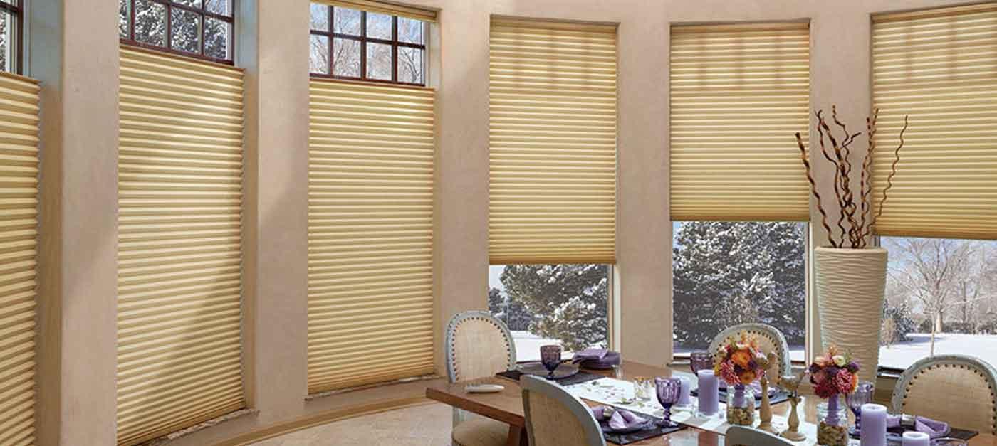Superbe Duette® Architella® Vertiglide™ Honeycomb Shades