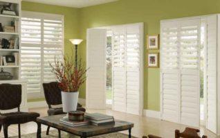 Sliding Glass Door and Bi-Fold Shutters